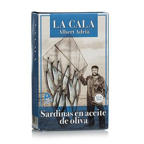 La Cala di Albert Adrià - Sardine in olio di oliva