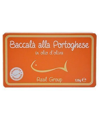 Real Group - Baccalà alla portoghese in olio di oliva