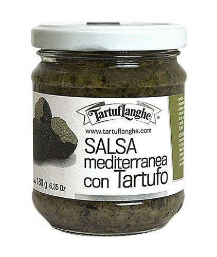 Tartuflanghe - Salsa mediterranea con tartufo