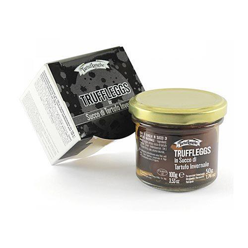 Tartuflanghe - Uova di quaglia in salsa di tartufo nero pregiato
