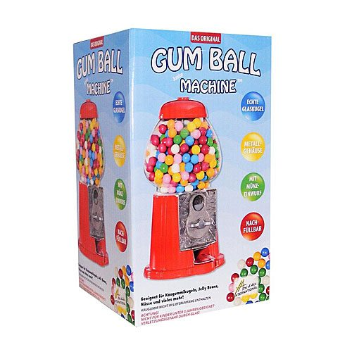 Gum Ball Machine Box