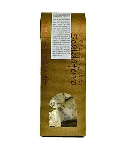 Scaldaferro - Torrone Mandorlato al pistacchio di bronte DOP e miele di coriandolo