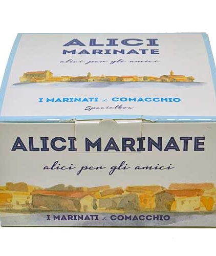 I marinati di Comacchio - Alici Marinate in scatola