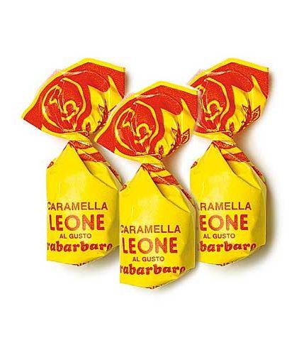 Pastiglie Leone - Caramelle Rabarbaro