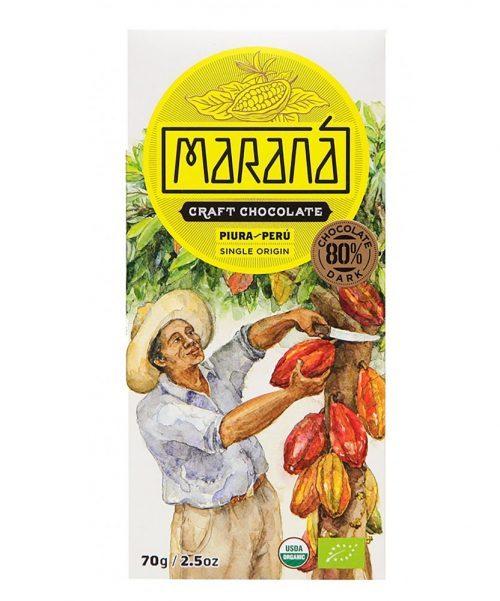 Maranà - Cioccolato Fondente - Piura 80%