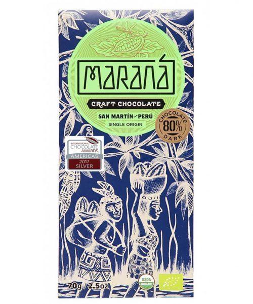 Maranà - Cioccolato fondente - Saint Martin 80%