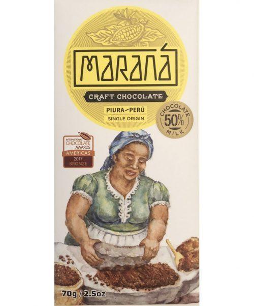 Maranà - Cioccolato al Latte - Piura 50%