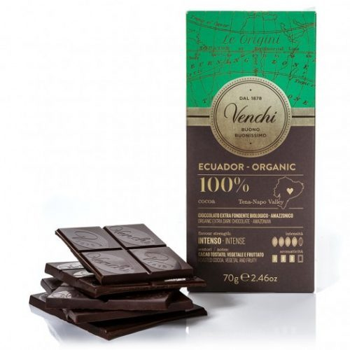 Venchi - Cioccolato Fondente 100% Ecuador Bio