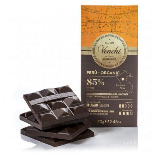 Venchi - Cioccolato Fondente 85% Peru Bio