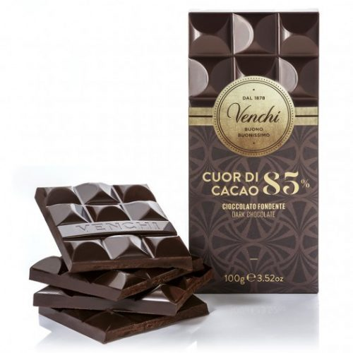 Venchi - Cioccolato Fondente Cuor di Cacao 85%