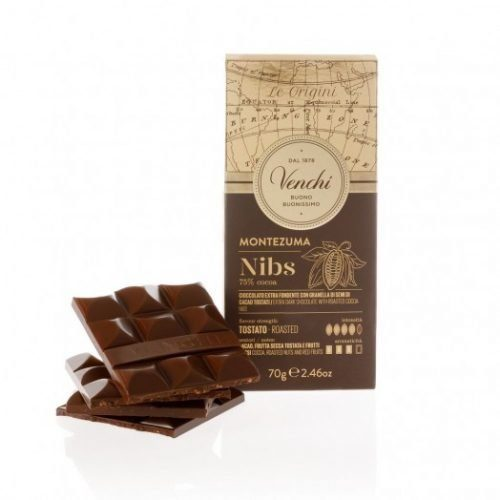 Venchi - Cioccolato Montezuma 75% Nibs