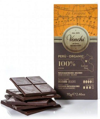 Venchi - Cioccolato Fondente 100% Peru Bio