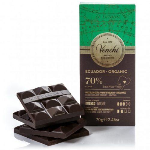 Venchi - Cioccolato Fondente 70% Ecuador Bio