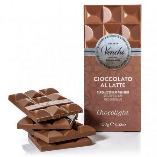 Venchi - Cioccolato al latte senza zuccheri aggiunti
