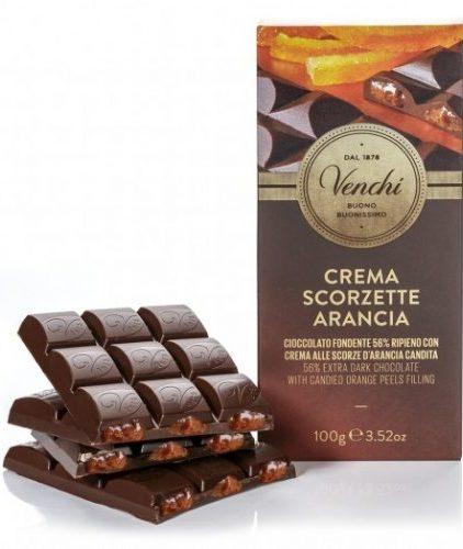 Venchi - Cioccolato fondente 56% ripiena all'arancia
