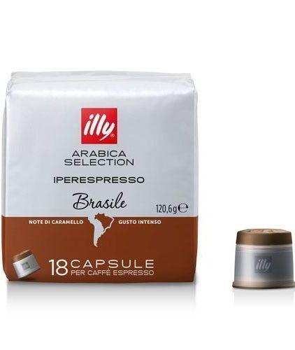 Illy Caffé - Capsule Iperespresso Arabica Selection Brasile