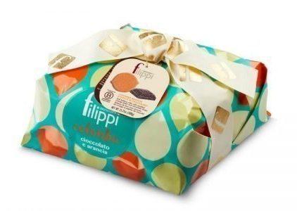 Pasticceria Filippi - Colomba Speciale con Arancia e Cioccolato Vidamà