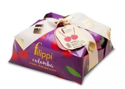 Pasticceria Filippi - Colomba Speciale con Amarene