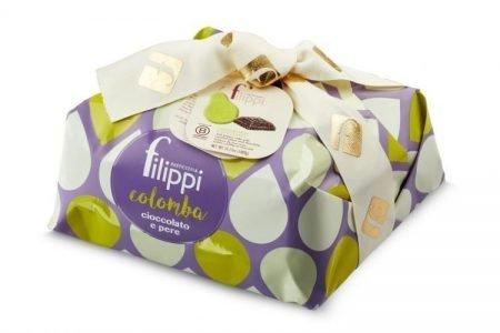Pasticceria Filippi - Colomba Speciale con Pere e Cioccolato Vidamà