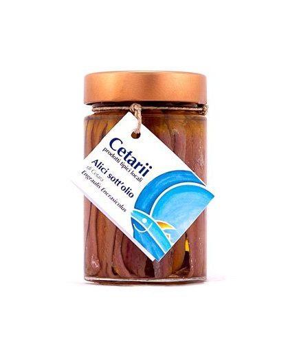 Cetarii - Alici Sott'Olio da 200 gr