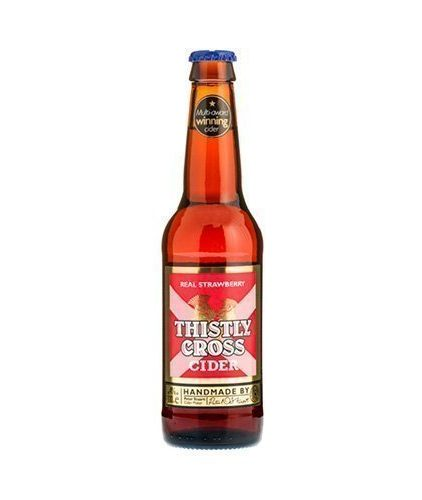 Thistly Cross Cider - Strawberry 33 cl