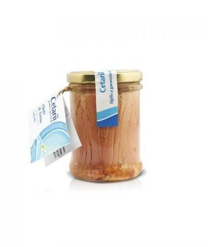 Cetarii - Filetti di tonno in olio di oliva