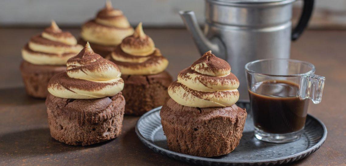 Cupcake Tiramisù senza glutine