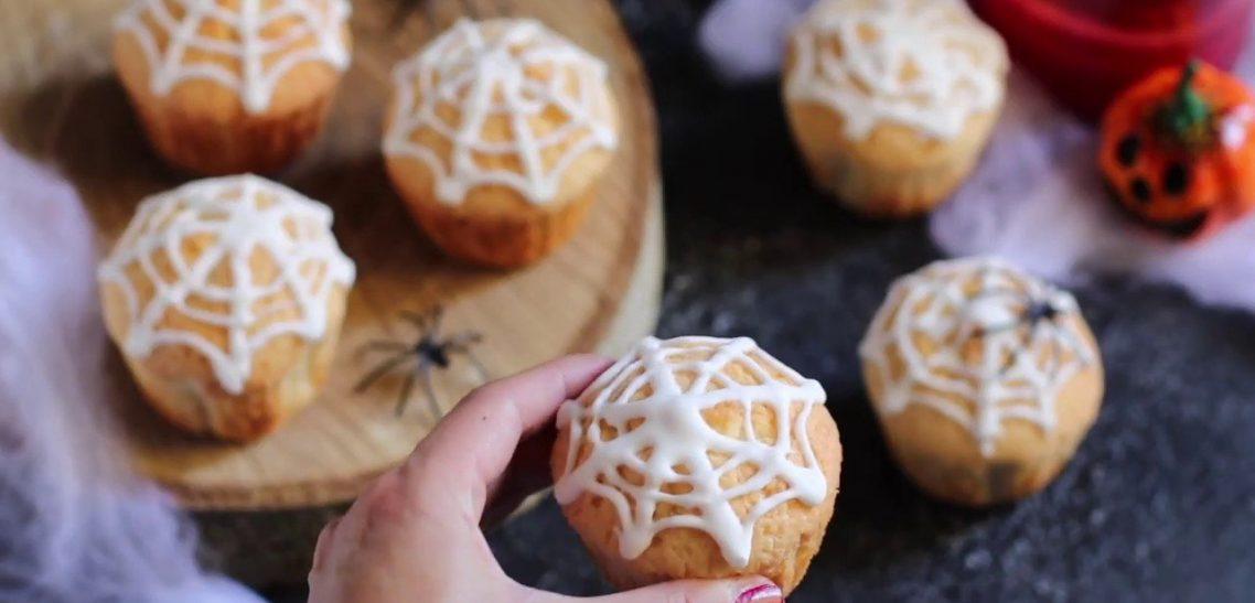 cupcake ragnatela senza glutine - ricetta nonna anita