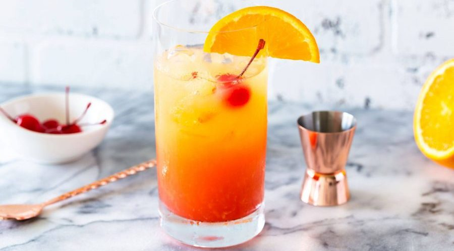 ricetta cocktail tequila sunrise rivisitato con gin mare