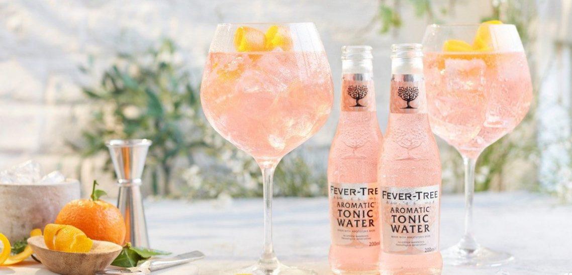 Ricetta Gin Tonic Rosa con tonica Fever Tree