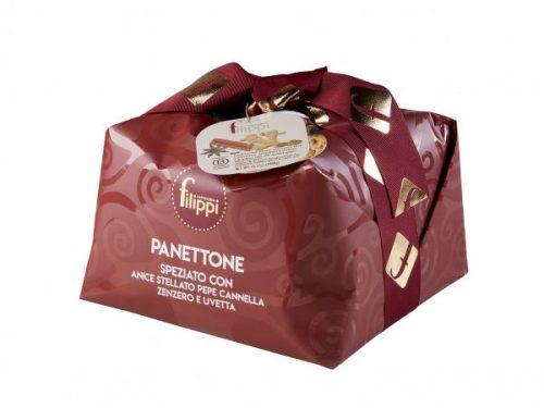 Pasticceria Filippi - Panettone Speziato Granspeziale