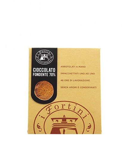 I Fortini - Biscotti al Cioccolato Fondente 70%