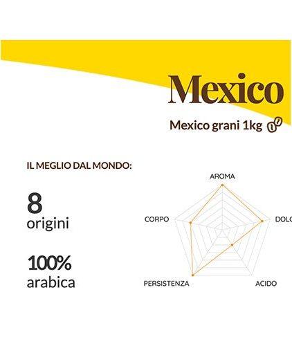 Descrizione Caffè Passalacqua - Mexico in grani da 1 Kg
