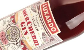 Sour Cherry Gin Fizz Luxardo